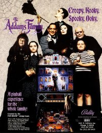 Addams Family flyer